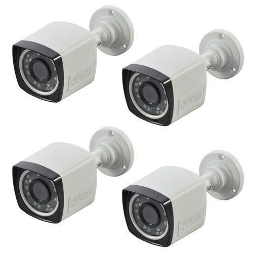 Assistência Técnica, SAC e Garantia do produto Câmeras de Segurança Residencial Externa Full HD Infra 20 Metros Citrox CX-2336 (4 Peças)