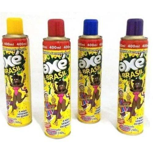 Assistência Técnica, SAC e Garantia do produto Espuminha Spray Carnaval e Festas Neve Artificial Axé Brasil 400ml/240g