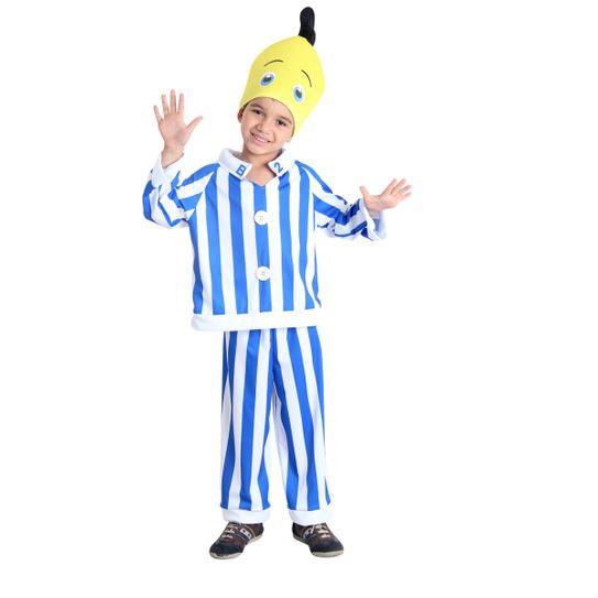 Assistência Técnica, SAC e Garantia do produto Fantasia Banana de Pijama B2 Infantil PP