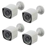Assistência Técnica e Garantia do produto Câmeras de Segurança Residencial Externa Full HD Infra 20 Metros Citrox CX-2336 (4 Peças)