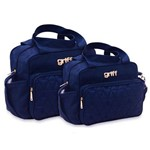 Assistência Técnica e Garantia do produto Kit Bolsa Bebê Maternidade Azul Marinho B20W15