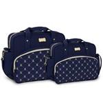 Assistência Técnica e Garantia do produto Kit Bolsa Bebê Maternidade Menino Menina Azul Marinho