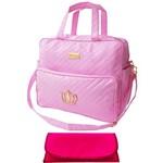 Assistência Técnica e Garantia do produto Kit Bolsa Bebê Maternidade Rosa Trocador B2W71