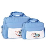 Assistência Técnica e Garantia do produto Kit Bolsa Maternidade Azul Claro - Mave