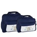 Assistência Técnica e Garantia do produto Kit Bolsa Maternidade Azul Marinho Menino Menina