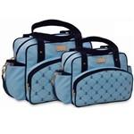 Assistência Técnica e Garantia do produto Kit de Bolsa Maternidade Azul Claro B30W07