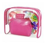 Assistência Técnica e Garantia do produto Kit de Necessaire de 3 Pçs Pink Jacki Design